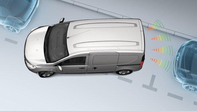 Dokker Van - Parking radar