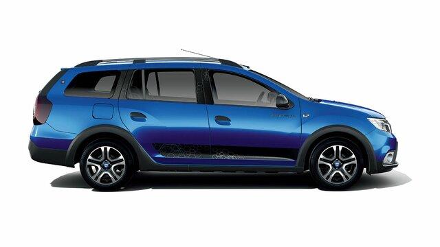 Dacia Logan MCV Stepway 15° anniversario - Vista di profilo