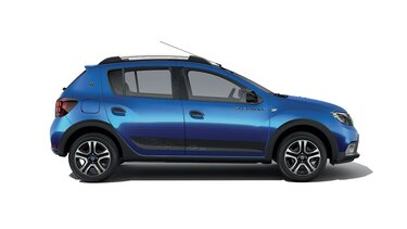 Dacia Sandero Stepway 15° anniversario - Vista di profilo