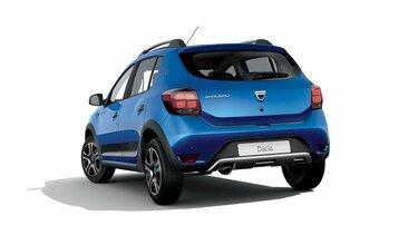 Dacia Sandero Stepway 15° anniversario - Vista 3/4 posteriore