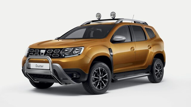 Dacia Duster pare buffle chromé