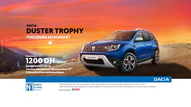 Dacia Duster promotion Mars