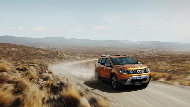 Dacia Duster orange