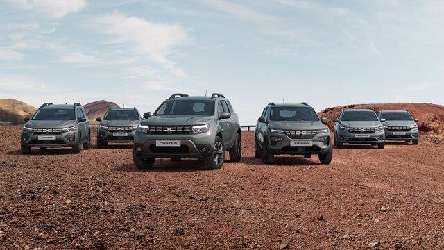 Nabídka vozů Dacia
