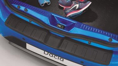 Dacia Sandero Stepway mit Ladekantenschutz im Kofferraum