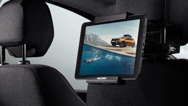 Der Dacia Duster – Tablet-Halterung