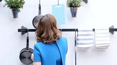 Dacia  Dachträger als Küchenleiste