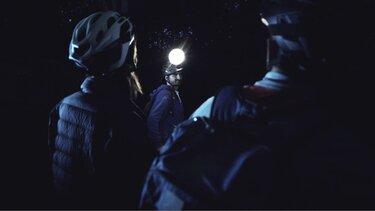 Dacia Dachscheinwerfer als Stirnlampe