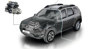 Onderhoud motor Dacia Duster