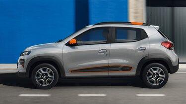 Dacia Spring – Vista laterale