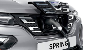 Dacia Spring Electric opladning