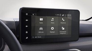 Kontrola vozila - Dacia Media Display