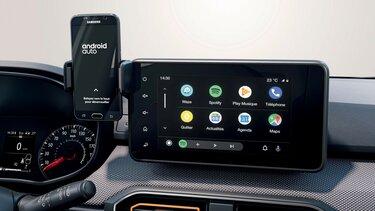 Android Auto™ Dacia Media Display