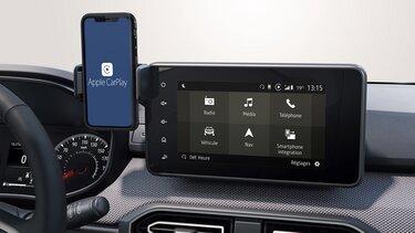 Apple CarPlay™ Dacia Media Display