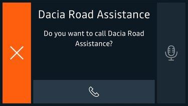Dacia Route Service met één klik hulp
