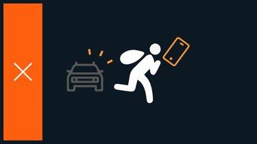 Waarschuwing voor telefoon vergeten