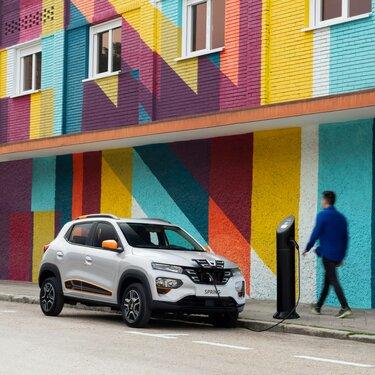 autonomía y batería Dacia Spring Electric