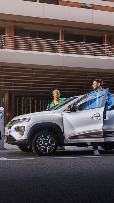Design esterno Dacia Spring Electric