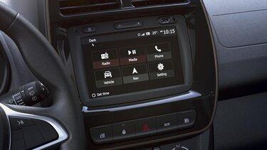 Spring– Elektrisches Stadtauto von Dacia - Multimediasystem