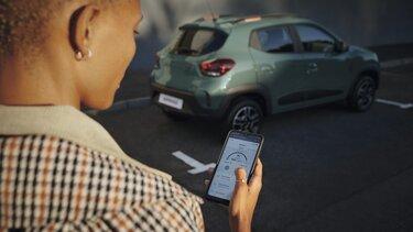 Spring- Elektrisches Stadtauto von Dacia - Reichweite