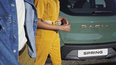 Spring Electric – elektromos Dacia városi kisautó