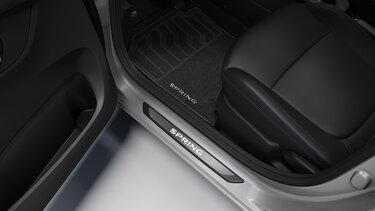 Nouvelle Dacia Spring  tapis de sol textile premium