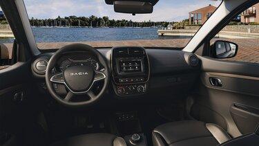 Nowa Dacia Spring 4 pełnowymiarowe siedzenia