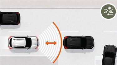 Nowa Dacia Spring system wspomagania nagłego hamowania
