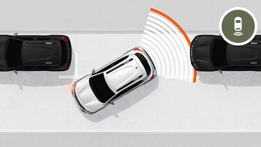 Nowa Dacia Spring system wspomagania parkowania i kamera cofania
