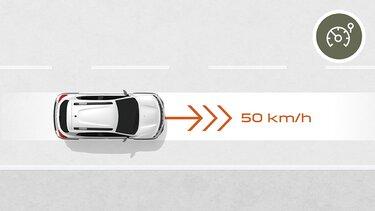 Nowa Dacia Spring Ogranicznik prędkości