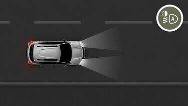 Nowa Dacia Spring automatyczne włączanie świateł