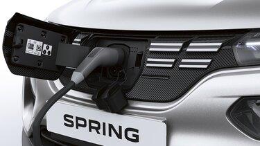Nowa Dacia Spring zasięg i ładowanie