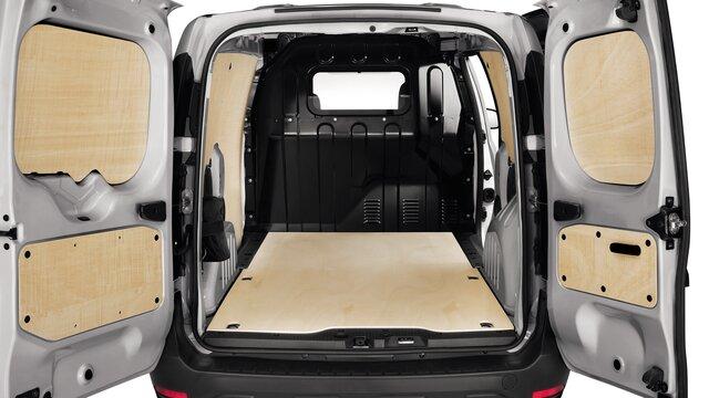 Fa padlózat - Dokker Van Dacia