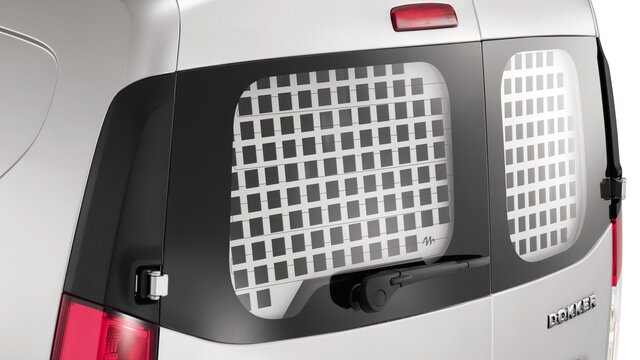 Ochranné mřížky oken pro vůz Dacia Dokker Van