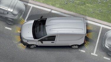 Dacia Dokker Van pomoć pri parkiranju unapred i unazad