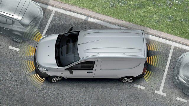Dokker Van - Aide au parking arrière