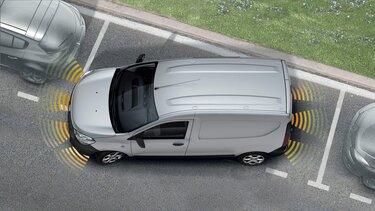 Dokker Van – Einparkhilfe hinten