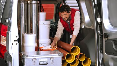 Dokker Van - Tovarni prostor prtljažnika