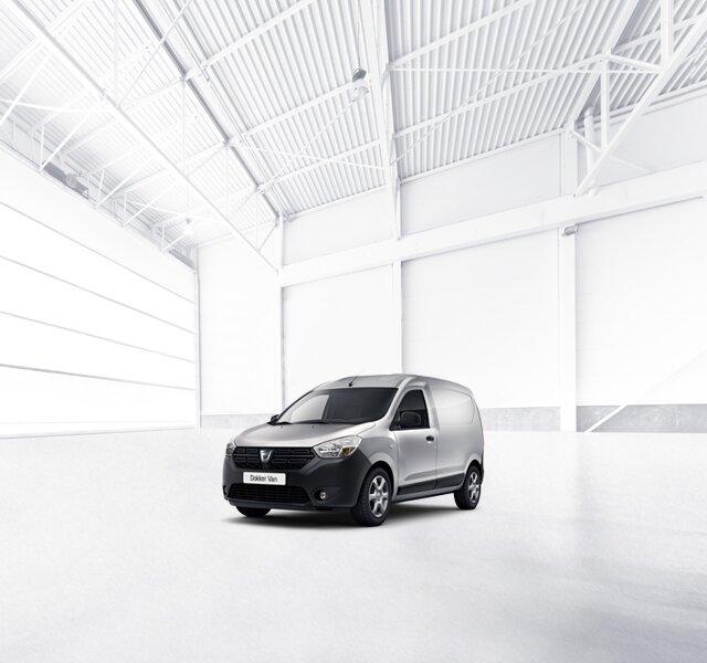 Dacia Dokker Van - Autovehicul pentru timpul liber, gri