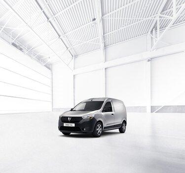 Dacia Dokker Van - šedý vůz pro volnočasové aktivity