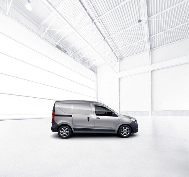Dacia Dokker Van w kolorze szarym
