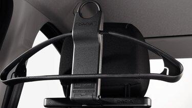 Dacia Dokker – Jackenhalter zur Befestigung an der Kopfstütze