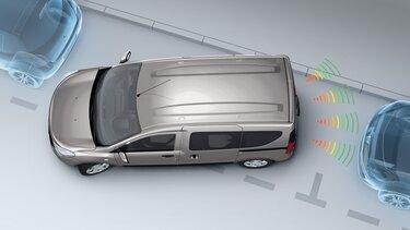 Dokker – kontrola udaljenosti za parkiranje unatrag i kamera za vožnju unatrag