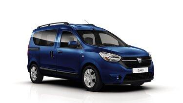 Blue Dacia Dokker – Dachträger