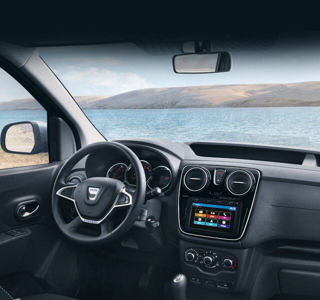 Dacia Dokker - Media-Nav Evolution innen