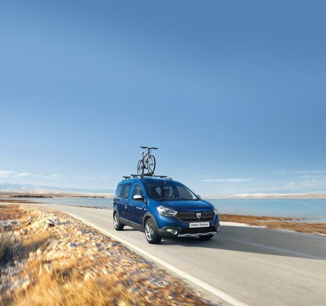 Strešné tyče Dacia Dokker