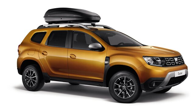 Dacia Duster - Box rigido da tetto