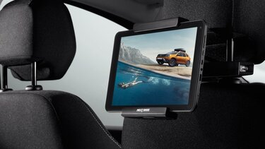 Dacia Duster nextbase tablet holder
