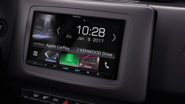 Dacia Duster Kenwood Apple Carplay car radio