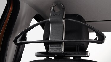 Vešiak na opierke hlavy Dacia Duster